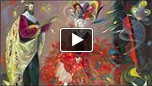 YouTube Video 2/2 of paintings from Love, Wisdom, Virtue