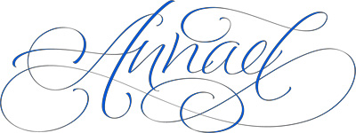 Annael in Calligraphy by Dancho Jelev