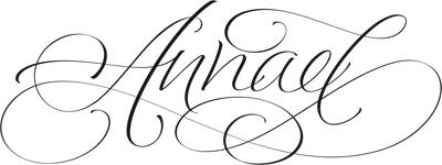 Annael in Calligraphy by Jordan Jelev